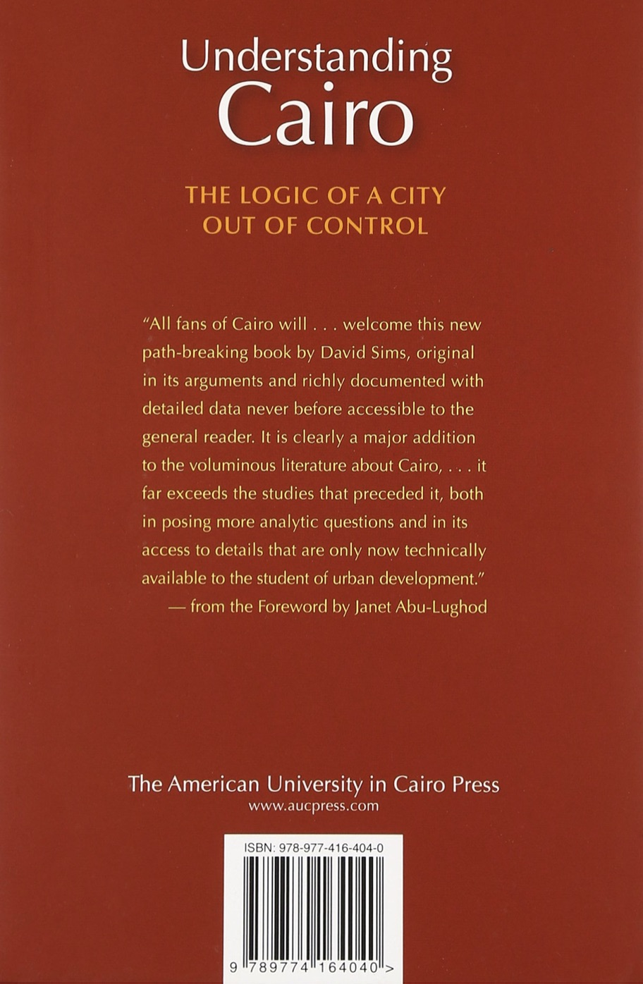 Understanding Cairo: The Logic of a City out of Control - Book Review